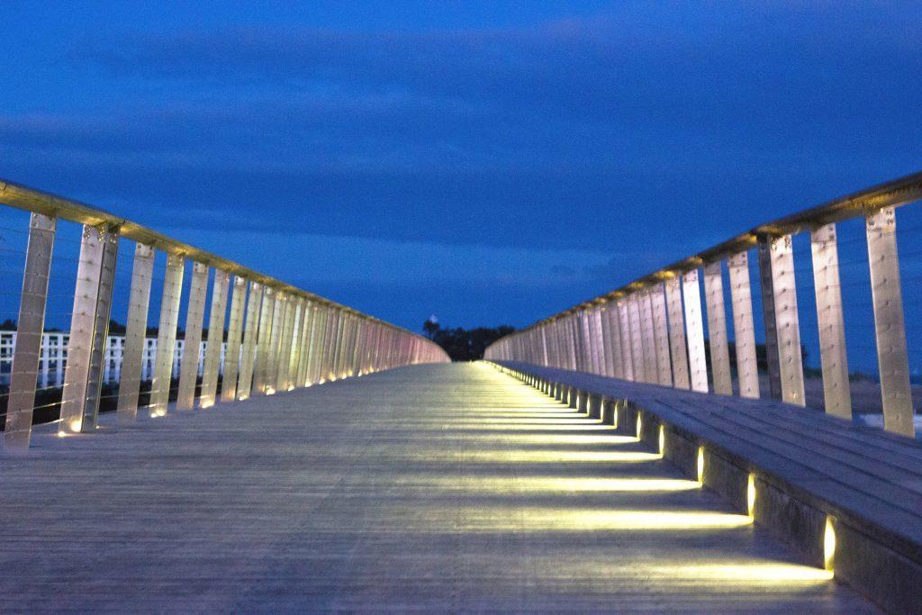 Barwon Heads footbridge.