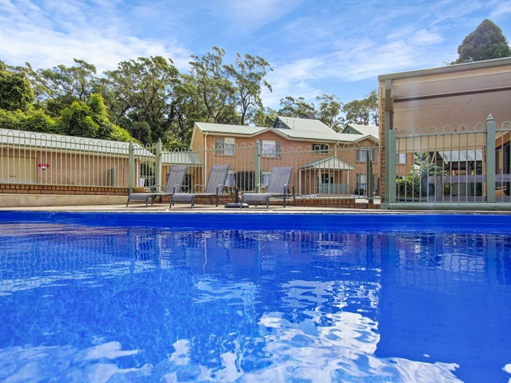 accessible accommodation with pool