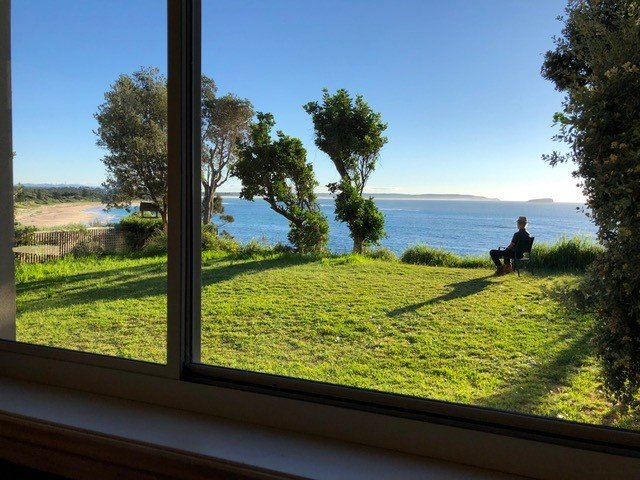 accessible accommodation (with sweeping ocean views) at Nora Beach House
