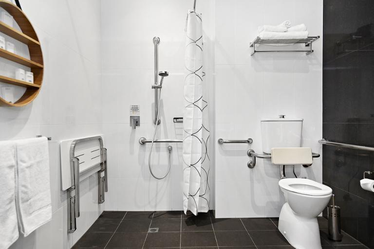 Accessible accommodation in the centre of adelaide