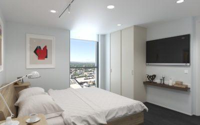 Accessible accommodation U City Adelaide