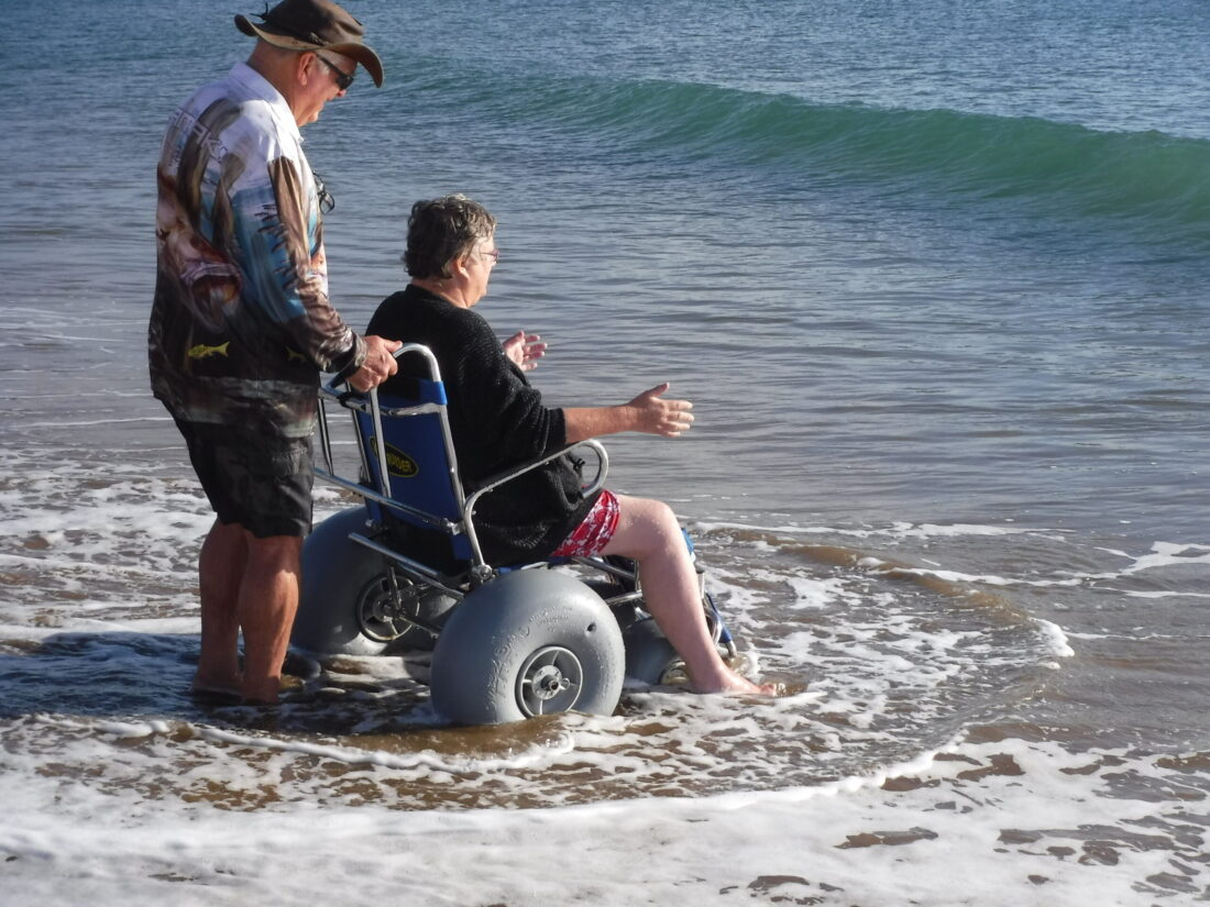 Accessible Accommodation @ Moore Park Beach