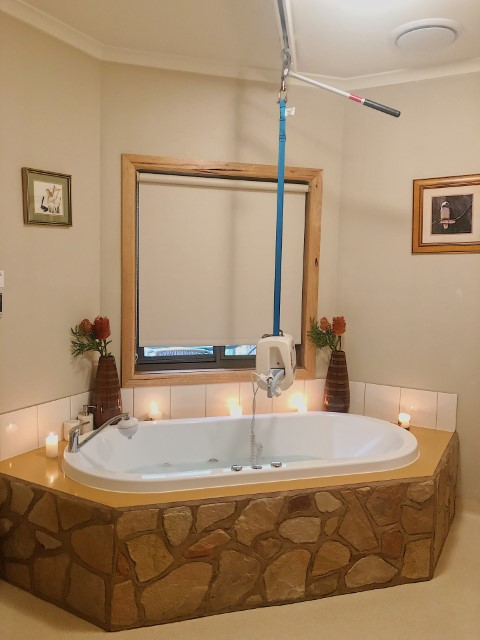 Accessible Accommodation With Swimming Pools or spa Shady Gums Grampians Accessible Accommodation